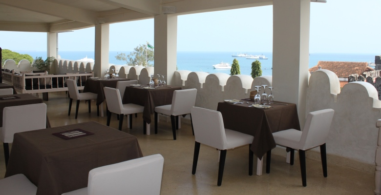 The Restaurant Located At Level Of Roofs Old Town Offers Views Over Ocean And Harbour